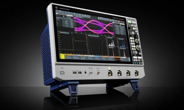 Rohde & Schwarz porte l'interface utilisateur de ses derniers oscilloscopes à un haut niveau d'ergonomie