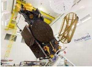 Thales Alenia Space effectue une démonstration de liaison 5G par satellite
