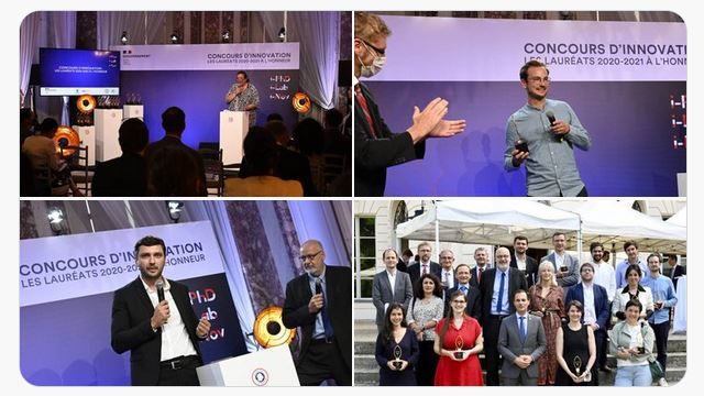 243 lauréats pour l'édition 2021 du Concours d'innovation 2020-2021
