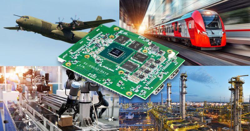Module PC/104 très hautes performances pour le mil/aéro et l'industriel