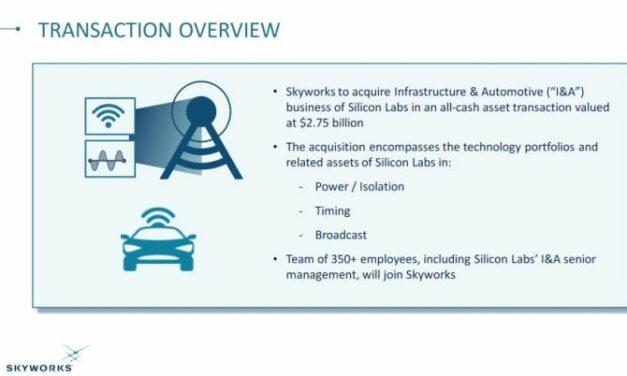Skyworks boucle le rachat de l'activité Infrastructure & Automobile de Silicon Labs