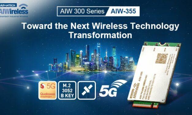 Advantech lance un module 5G pour applications industrielles