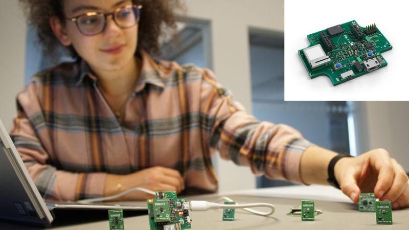 Une carte d'évaluation multicapteurs à connectivité Bluetooth signée Bosch
