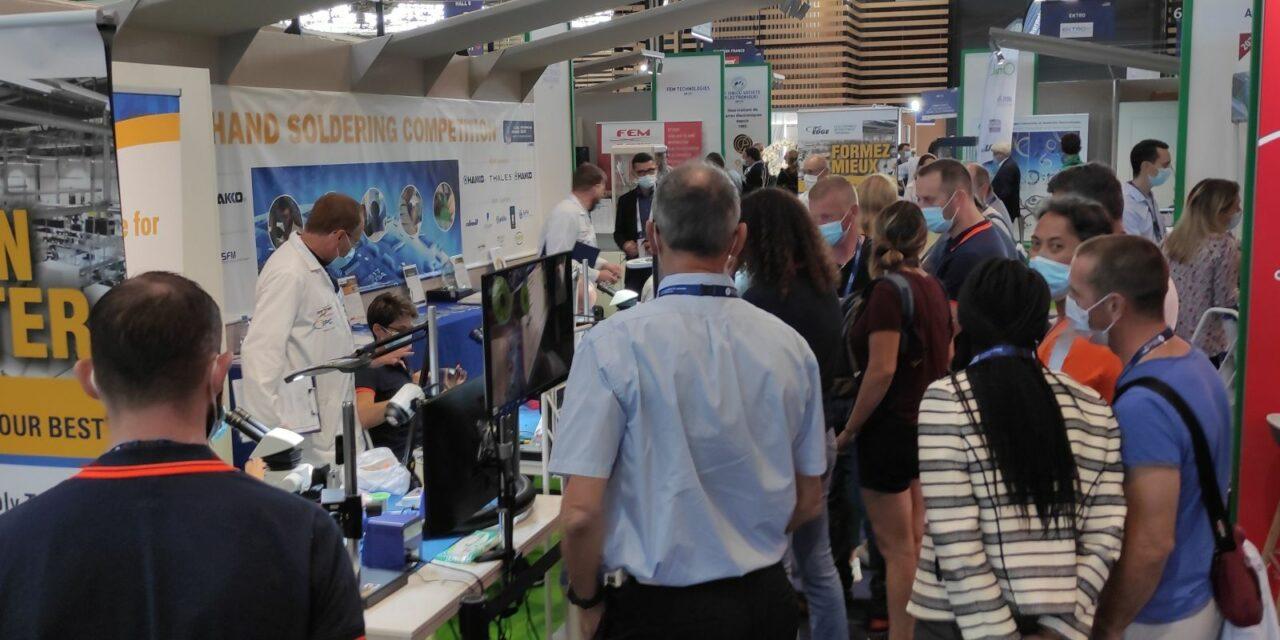 Le concours de brasage manuel de l'IPC attire les foules à Global Industrie