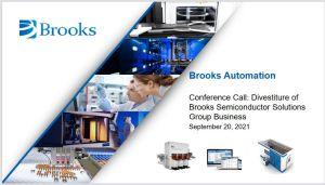 Brooks Automation sort de l'industrie des semiconducteurs pour 3 milliards de dollars
