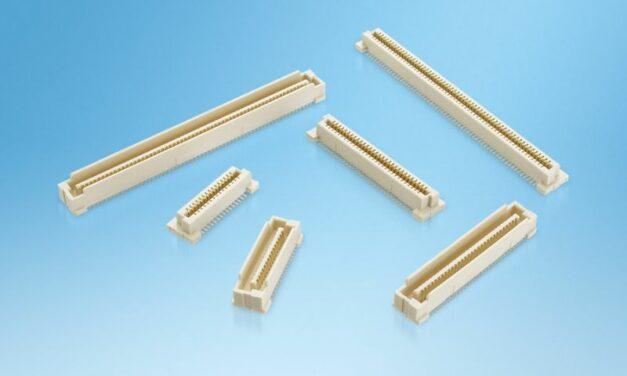 Les connecteurs industriels ont, eux aussi, droit à un pas de contacts de 0,8 mm