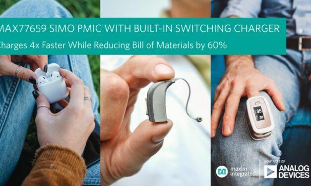 Les appareils auditifs et autres wearables se rechargent quatre fois plus vite
