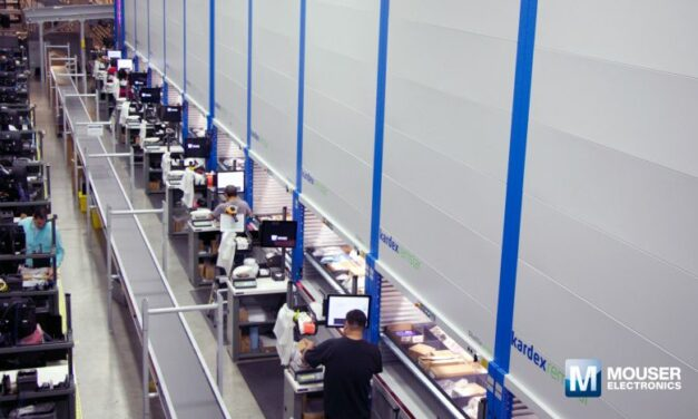 Mouser poursuit ses investissements dans son entrepôt géant, au Texas