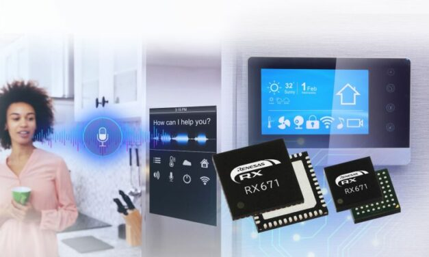 Renesas adapte ses microcontrôleurs RX aux IHM sans contact
