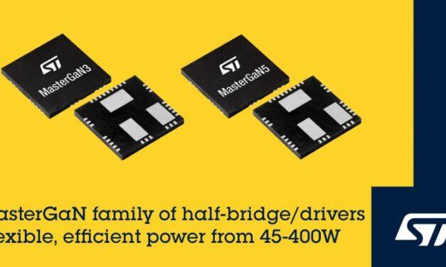 ST complète sa gamme de modules de puissance en GaN