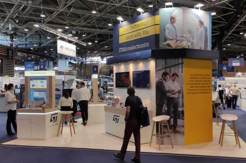 Global Industrie : ST dévoile des solutions dédiées à l'industriel et à la santé