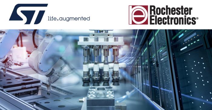 Collaboration entre Rochester et STMicroelectronics pour les composants en fin de vie