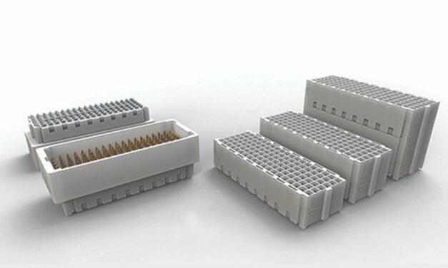 Les connecteurs mezzanine durcis à haut débit de TE Connectivity gagnent en praticité