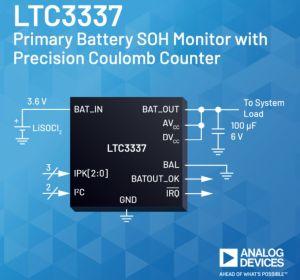 Circuit de diagnostic pour éléments de batterie primaires   Analog Devices