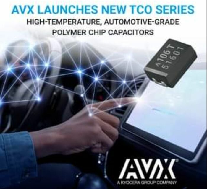 Les condensateurs polymères pour l'automobile d'AVX montent à 150°C