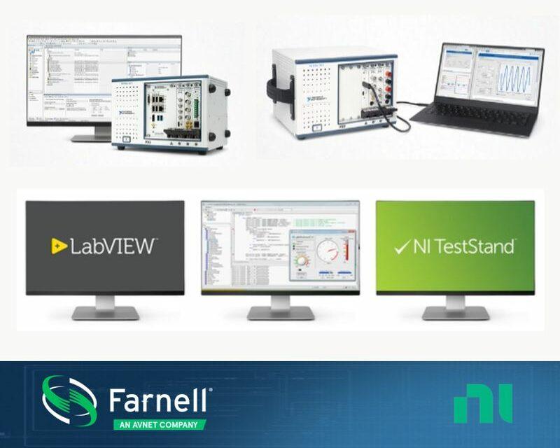Farnell propose des solutions spécifiques à partir des offres de NI et d'Omega