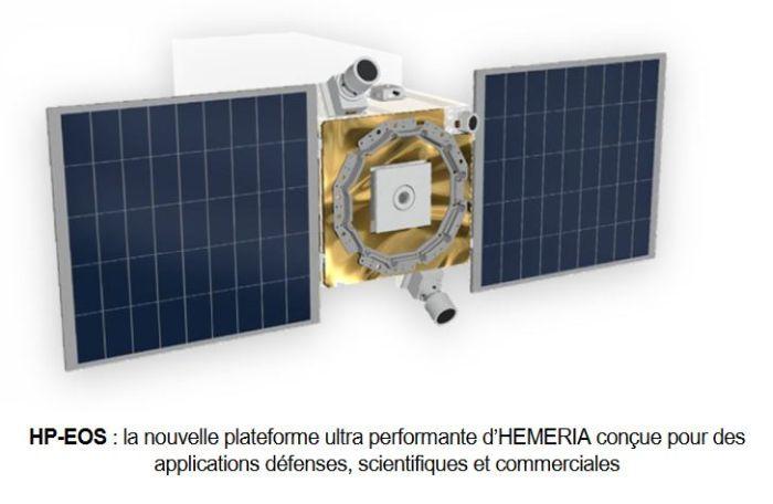 Hemeria se lance dans le développement d'une plateforme nanosatellite générique multi-missions