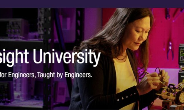 Une plateforme d'apprentissage en ligne signée Keysight