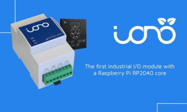 Premier module d'entrée/sortie industriel intégrant le microcontrôleur Raspberry Pi RP2040