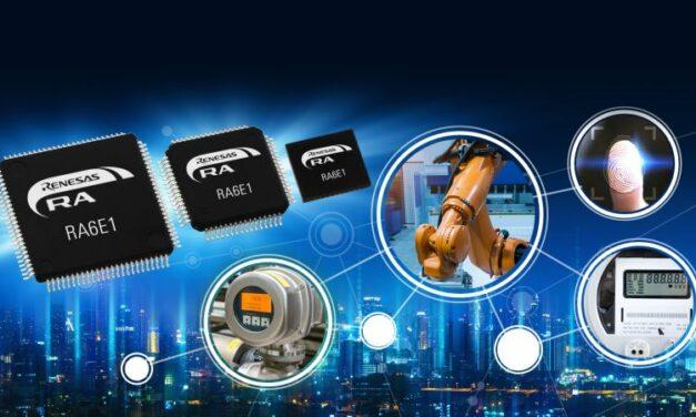Renesas booste les performances de ses microcontrôleurs basse consommation d'entrée de gamme