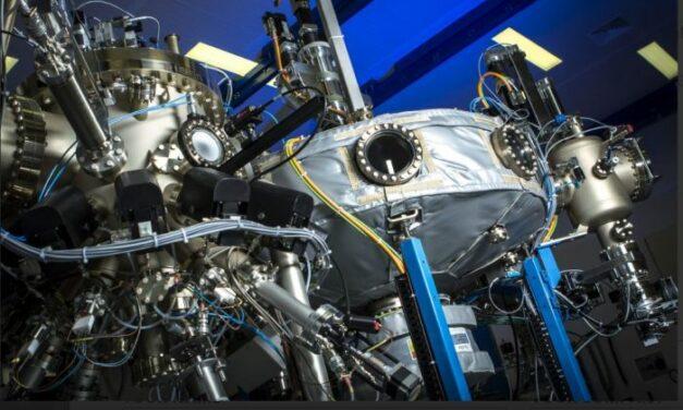 Commande d'une machine MBE de Riber par l'université de Montpellier
