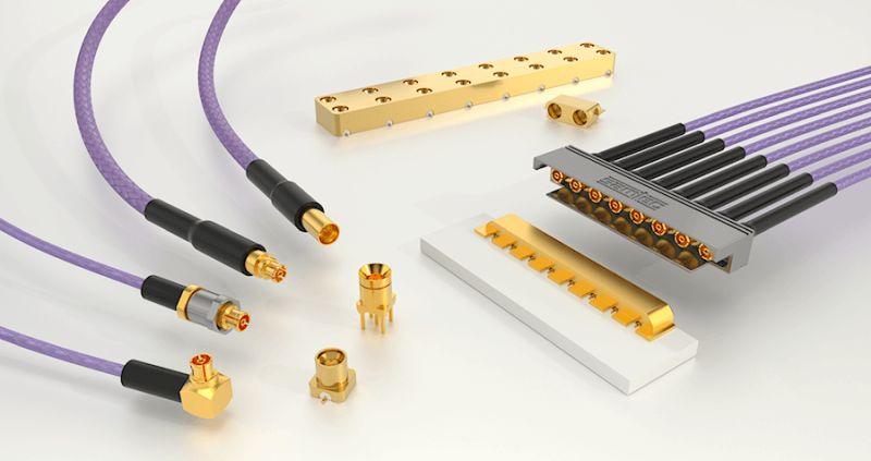 Samtec lance des connecteurs RF micro-miniatures adaptés aux espaces confinés