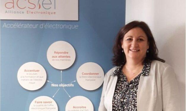 Sandrine Beaufils nommée déléguée générale adjointe d'Acsiel Alliance Electronique