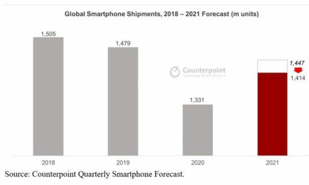 La pénurie rattrape l'industrie des smartphones