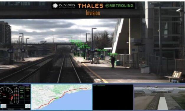 Thales fait progresser les technologies autonomes dans le ferroviaire